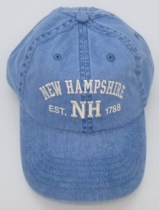 Royal Resortwear New Hampshire Established 1788 Ball Cap One Size Blue