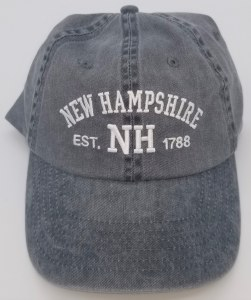 Royal Resortwear New Hampshire Established 1788 Ball Cap One Size Charcoal