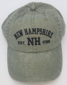 Royal Resortwear New Hampshire Established 1788 Ball Cap One Size Olive