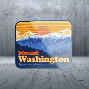 Sticker Pack Presidential Mountains Decal Small