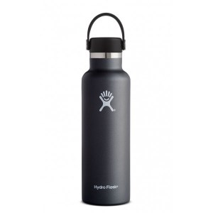 Hydro Flask 21oz Standard Mouth w/Flex Cap 21oz Black
