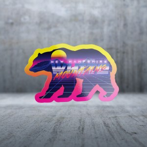 Sticker Pack Retro Future - Mountain Bear Lazers Decal Small