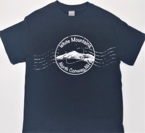 Luba Designs Stamp North Conway, New Hampshire Tee L Black