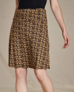 Toad & Co  Chaka Skirt Medium Buffalo Floral Print
