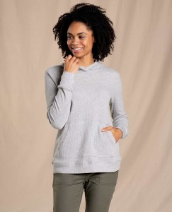 Toad & Co  Foothill Hoodie M Heather Grey