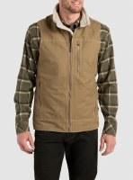 Kuhl Burr Vest Lined Medium Khaki