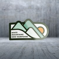 Sticker Pack GE - Mountain Sunset Pill Decal Large