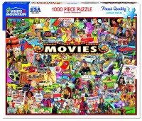 White Mountain Puzzles The Movies Puzzles 1000 Pieces