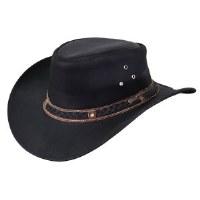 Outback Trading Company Wagga Wagga Leather X-Large Black