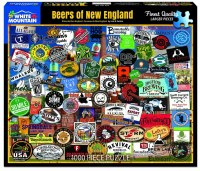 White Mountain Puzzles Beers of New England Puzzle 1000 Pieces
