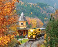 White Mountain Puzzles Scenic Railroad Puzzle 1000 Pieces