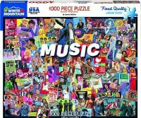 White Mountain Puzzles Music Puzzle 1000 Pieces
