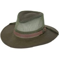 Outback Trading Company Kodiak with Mesh Hat M Sage