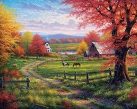 White Mountain Puzzles Peace & Tranquility Puzzle 1000 Pieces