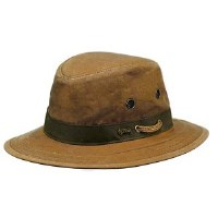 Outback Trading Company Willis Oilskin Hat X-Large Field Tan