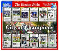White Mountain Puzzles Boston City of Champions Puzzle 550 Pieces