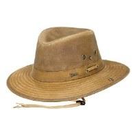 Outback Trading Company River Guide Oilskin Medium Field Tan