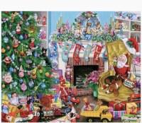 White Mountain Puzzles Christmas Toys Puzzles 1000 Pieces