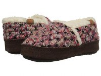 Acorn Kids L'il Jam Moc Slippers 3-4 Raspberry