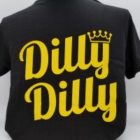 Pacific Art Dilly Dilly S/S Tee Large Black
