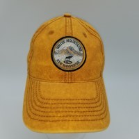 Royal Resortwear New Hampshire White Mountains Patch Ball Cap  Dijon