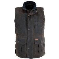 Outback Trading Company Deer Hunter Vest Medium Bronze
