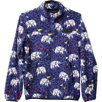 Kavu Cavanaugh Fleece Pullover XS Polar Mosaic