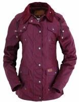 Outback Trading Company Jill-A-Roo Jacket Small Berry