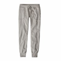 Patagonia Women's Ahnya Fleece Pants X-Small Drifter Grey