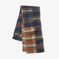 Patagonia Fjord Flannel Patchwork Scarf  OS Defender: New Navy