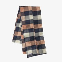 Patagonia Fjord Flannel Patchwork Scarf  OS Upriver: Century Pink