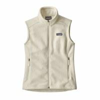 Patagonia Women's Classic Synchilla Fleece Vest Small Birch White