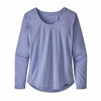 Patagonia Women's Long-Sleeved Capilene Cool Trail Shirt Small Light Violet Blue
