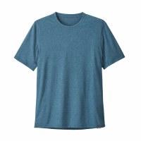 Patagonia Men's Capilene Cool Trail Shirt Medium Big Sur Blue