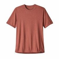 Patagonia Men's Capilene Cool Trail Shirt Medium New Adobe