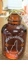 Turkey Street Maples New Hampshire Pure Maple Syrup 250ml Glass NH
