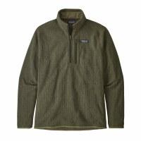 Patagonia Men's Better Sweater Rib Knit 1/4-Zip Fleece XX-Large Industrial Green Rib Knit