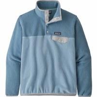 Patagonia Women's Lightweight Synchilla Snap-T Fleece Pullover S Berlin Blue