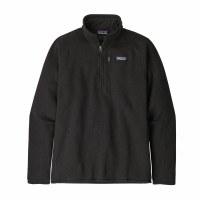 Patagonia Men's Better Sweater 1/4-Zip Fleece X-Large Black