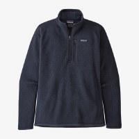 Patagonia Men's Better Sweater 1/4-Zip Fleece M New Navy