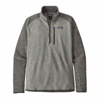 Patagonia Men's Better Sweater 1/4-Zip Fleece XX-Large Nickel w/Forge Grey