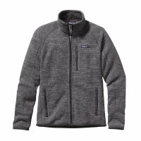Patagonia Men's Better Sweater Fleece Jacket X-Large Nickel w/Forge Grey