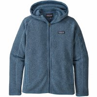 Patagonia W's Better Sweater Hoody M Woolly Blue