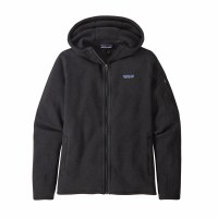 Patagonia W's Better Sweater Hoody S Black