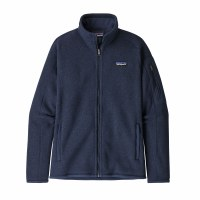 Patagonia Women's Better Sweater Fleece Jacket Large New Navy