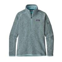 Patagonia Women's Better Sweater 1/4 Zip Fleece X-Small Atoll Blue