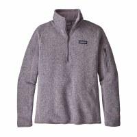 Patagonia Women's Better Sweater 1/4 Zip Fleece Small Smokey Violet