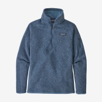 Patagonia W's Better Sweater 1/4-Zip S Woolly Blue