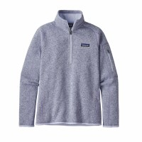 Patagonia Women's Better Sweater 1/4-Zip Fleece L Beluga