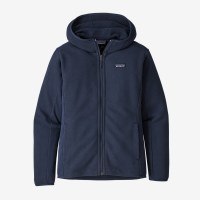 Patagonia W's Lightweight Better Sweater Fleece Hoody XS New Navy